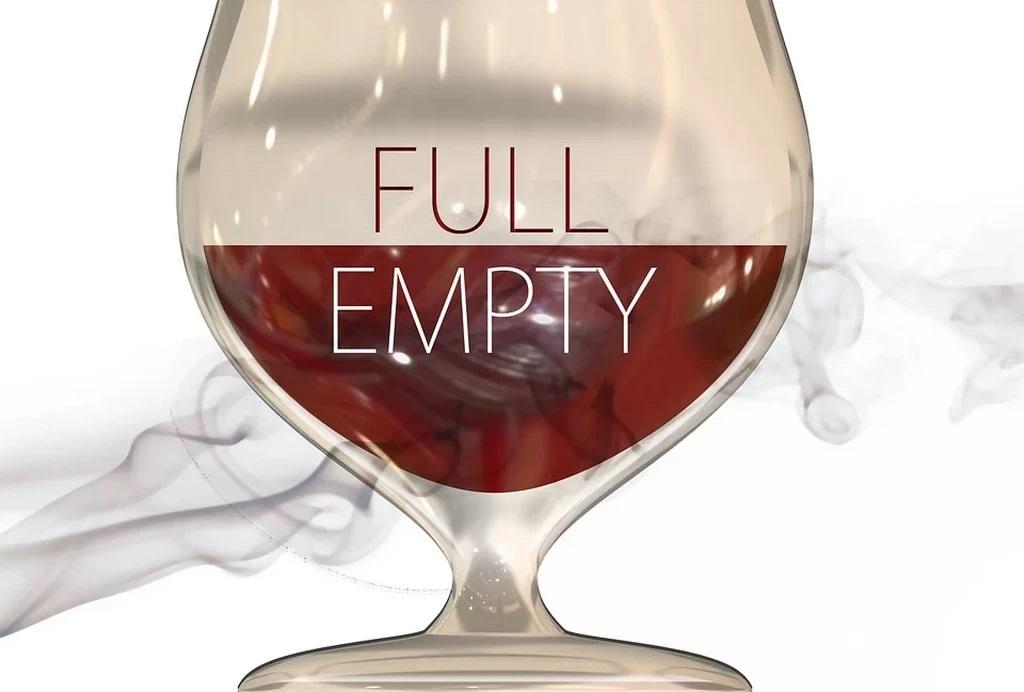 glas halfvol of halfleeg